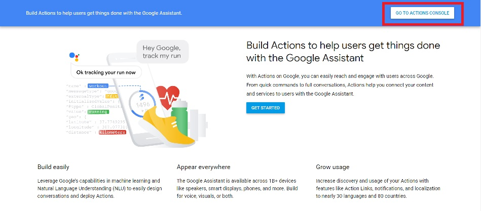 Actions on Google0