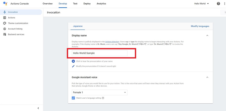 Actions on Google10