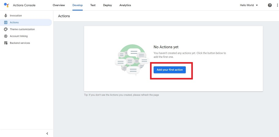 Actions on Google12
