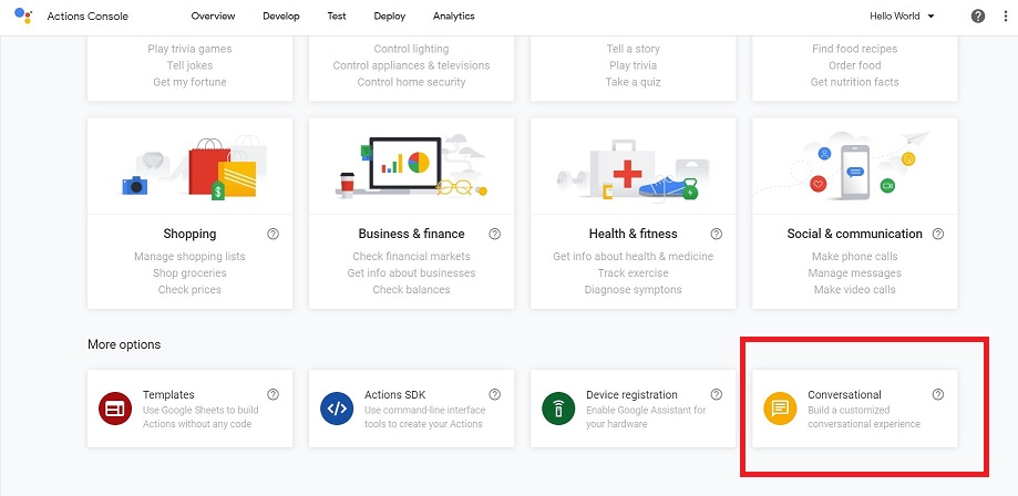 Actions on Google5