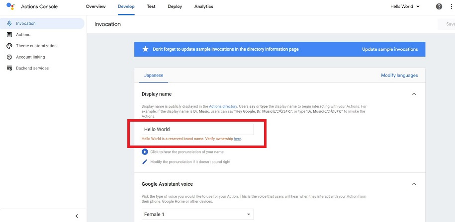 Actions on Google9