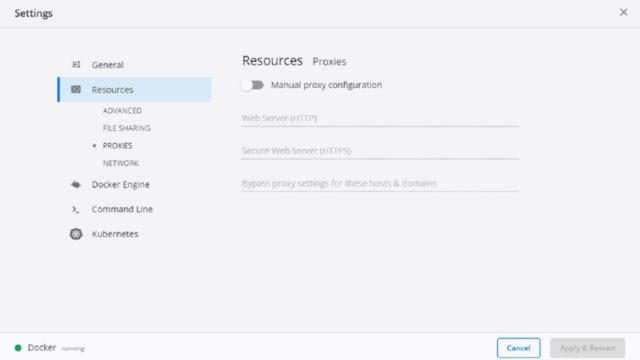 プロキシ環境下のDocker Desktopで外部と通信する方法